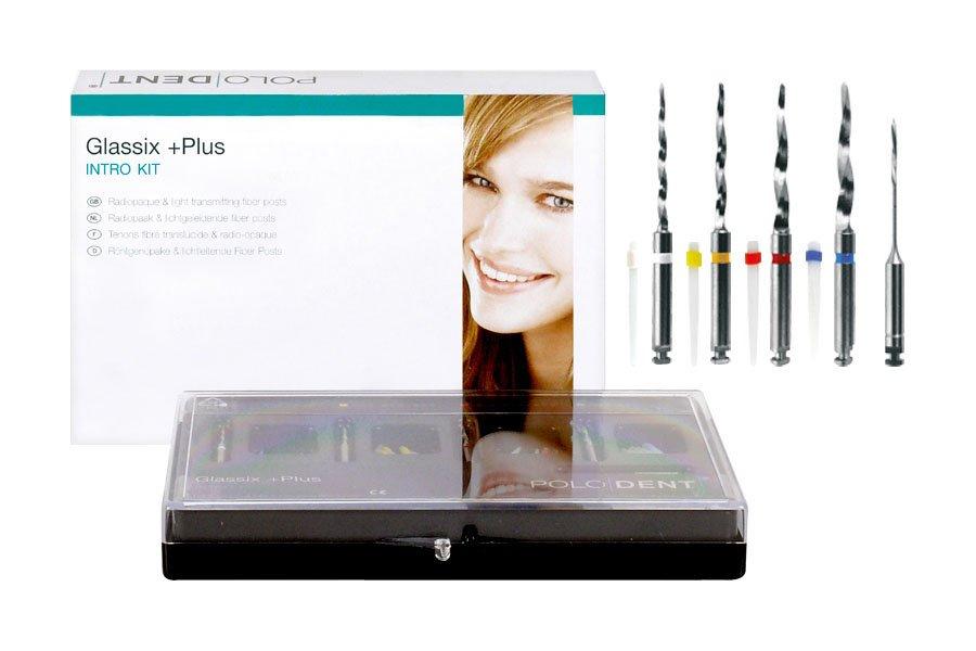 Glassix +Plus Fiber posts intro kit - Polo MB
