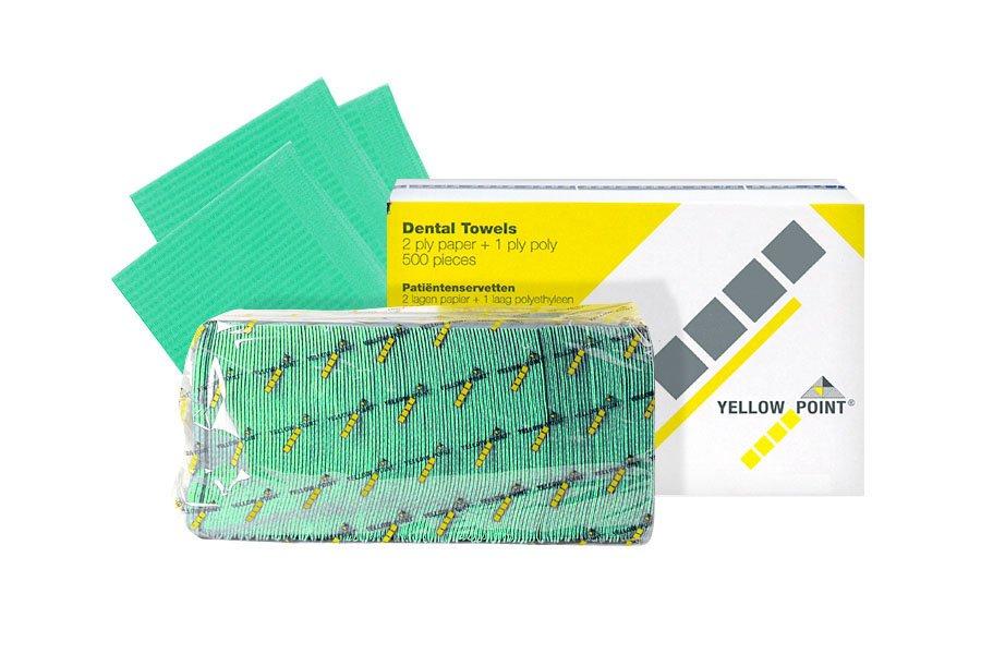 Dental Towels green