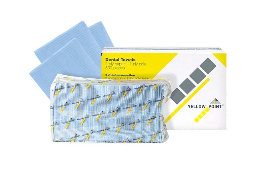 Dental Towels light blue