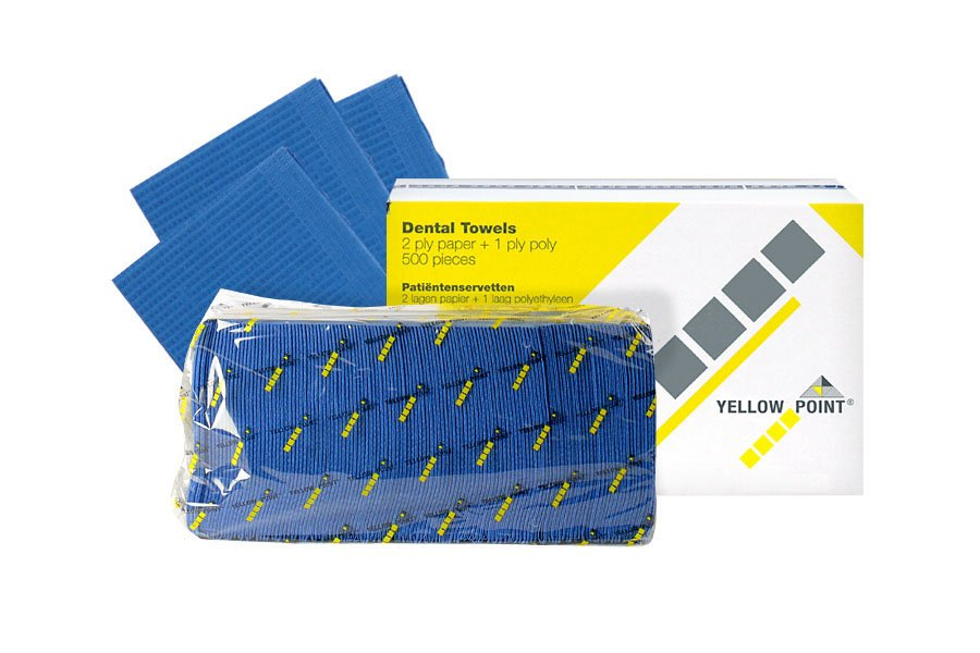 Dental Towels dark blue