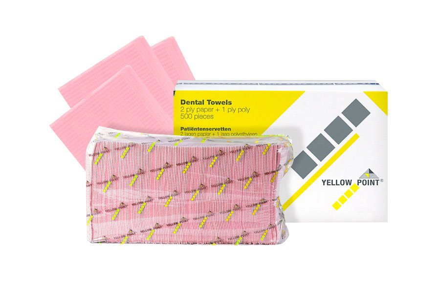 Dental Towels pink