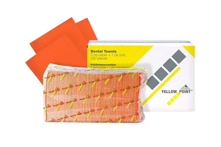Dental Towels orange